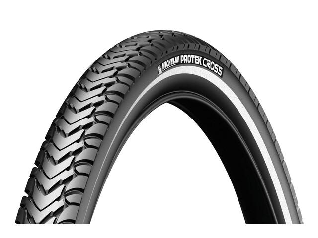 """Michelin Protek Cross Bike Tire 26"""", wire bead, Reflex black"""